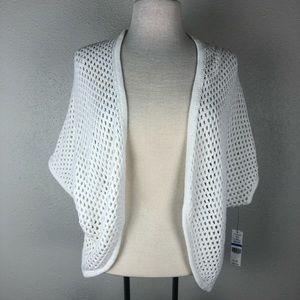 NWT Chaus Large Knit Cardigan Style Sweater